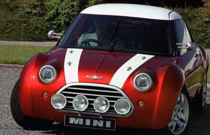 Концепт -баварского- Mini, о котором все забыли и очень зря