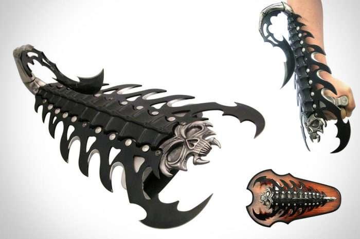 7 ножей из необычных материалов и в эксклюзивном дизайне, достойные восхищения