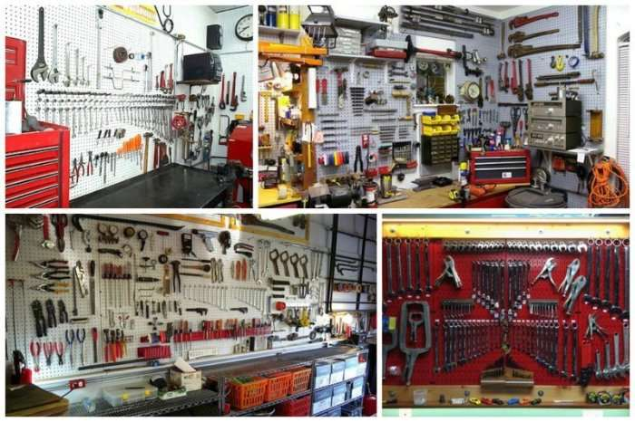 10 примеров того, как выглядит гараж перфекциониста, от чего буквально крышу сносит