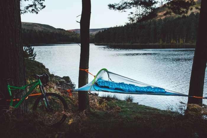 Гамак-палатка, который избавит путешественника от лишней нагрузки