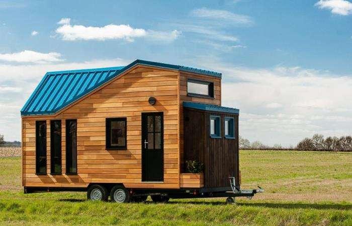 Крошечный дом на колесах, который внутри больше, чем кажется
