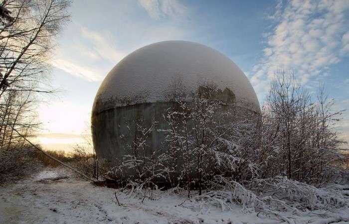 Загадочный шар под Дубной: что оно такое и как туда попало