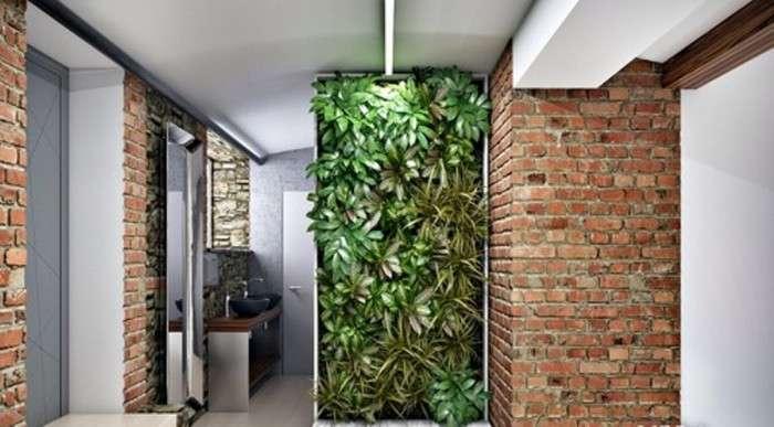 Эко-стиль в интерьере, или Растений много не бывает