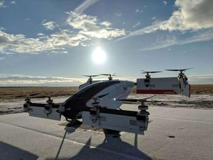 Никто не верил, а он взлетел: летающее такси-робот от Airbus поднялось в воздух