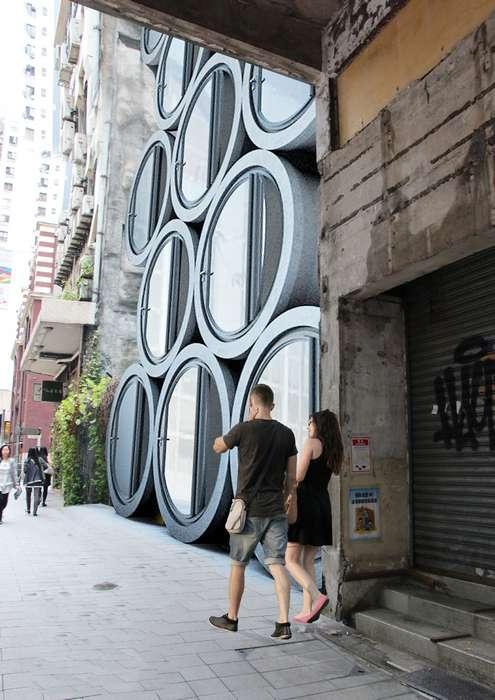 Антикризисное жильё в водопроводных трубах, которое станет находкой для жителей мегаполисов