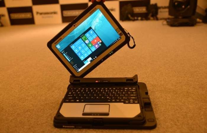 Компания Panasonic показала суперзащищенный ноутбук, заряда которого хватает почти на сутки