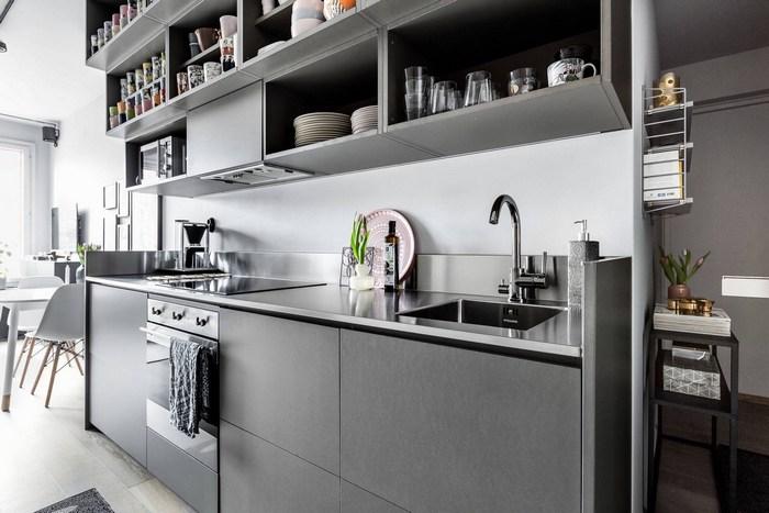 Как из тесной коробки сделать шикарные апартаменты: 30 кв метров функционального и стильного дизайна
