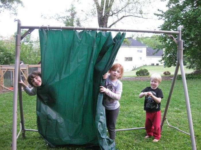 Что делать со старой шторкой для душа: 13 крутых идей для дома и дачи