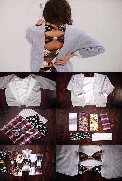 15 крутейших идей, которые помогут превратить старую одежду в модные эксклюзивные вещи
