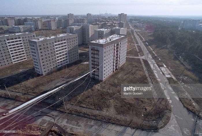 Мёртвый город Припять. Джунгли Чернобыля (76 фото)