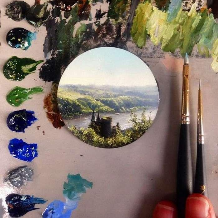 Удивительный мир в миниатюрах Дины Бродски