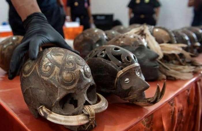 Контрабандисты и человеческие черепа