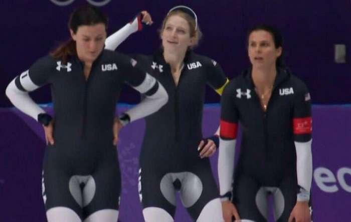 Тайна дизайнерской задумки экипировки конькобежцев из США раскрыта