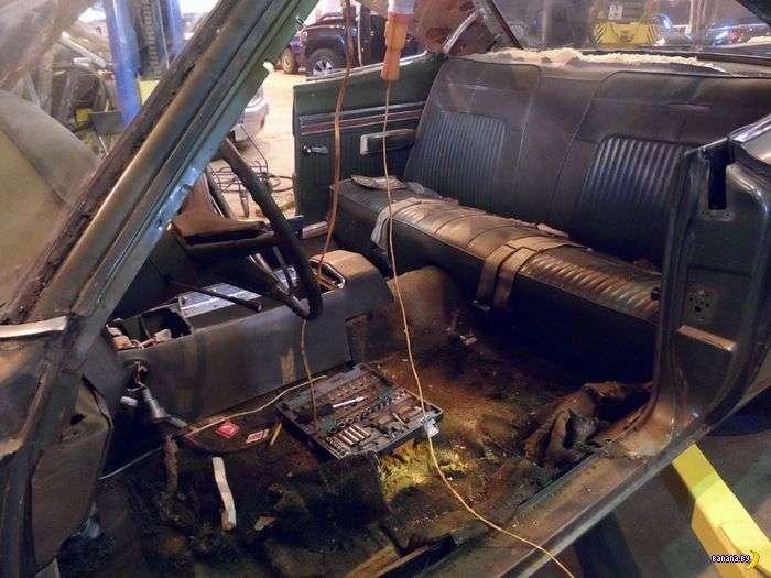 Вторая жизнь Dodge Coronet 1969 Super Bee