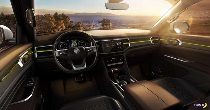 А как вам пикап от Volkswagen?