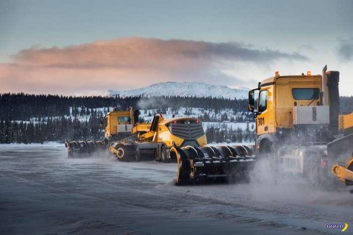 Роботы Yeti ухаживают за аэропортом в Норвегии