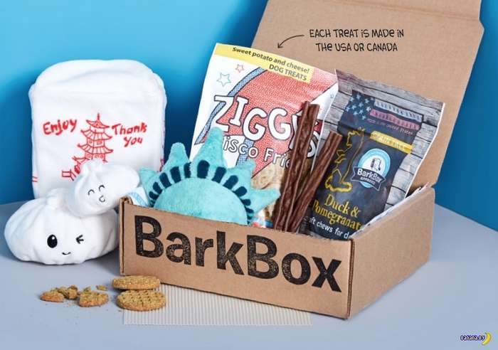 В США открыта подписка на BarkBox