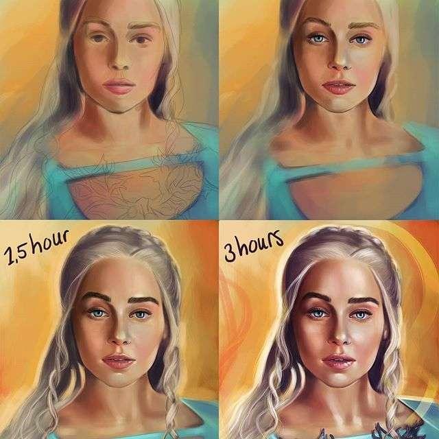 Это интересно: Цифровая художница поэтапно показала процесс создания своих рисунков