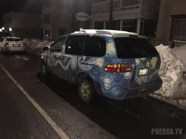 Самый дикий и необычный тюнинг автомобилей (38 фото)