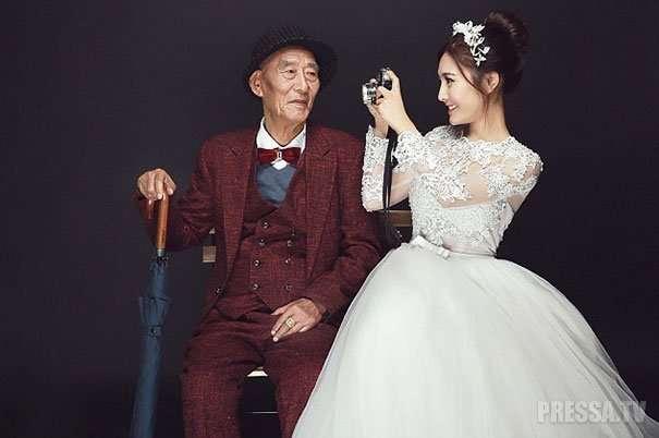 Свадебная фотосессия ради тяжелобольного дедушки