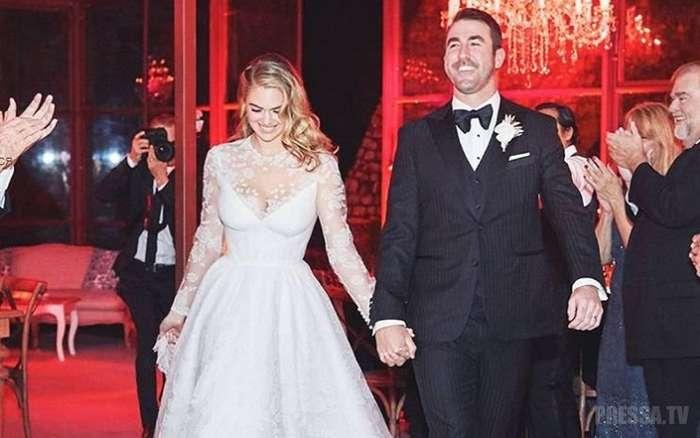 Кейт Аптон выложила фотографии со своей свадьбы