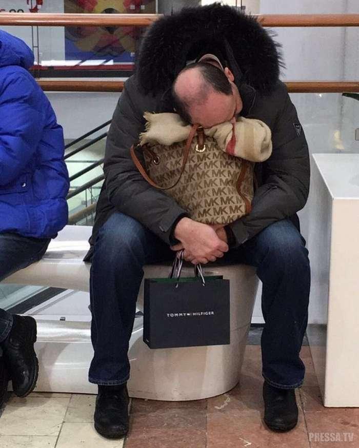 Пока жена на шопинге
