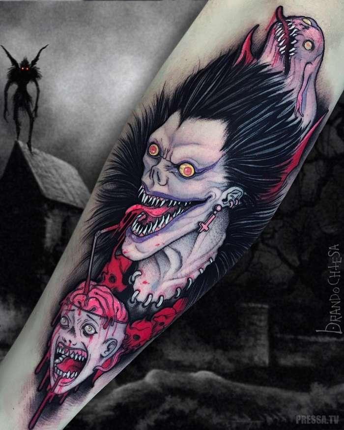 Великолепные татуировки от итальянского художника Брандо Кьеза