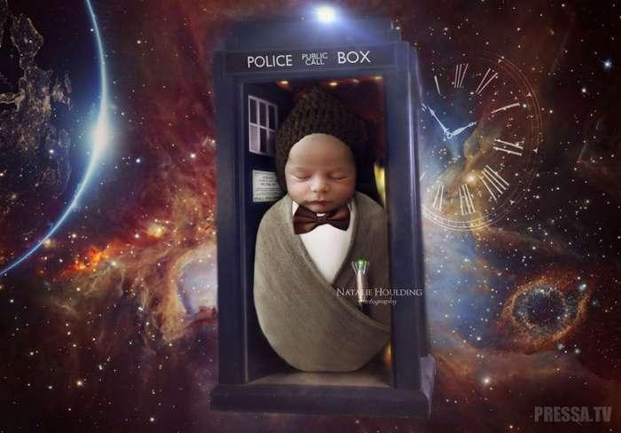 Неожиданный косплей младенцев от Терри Хаулдинг