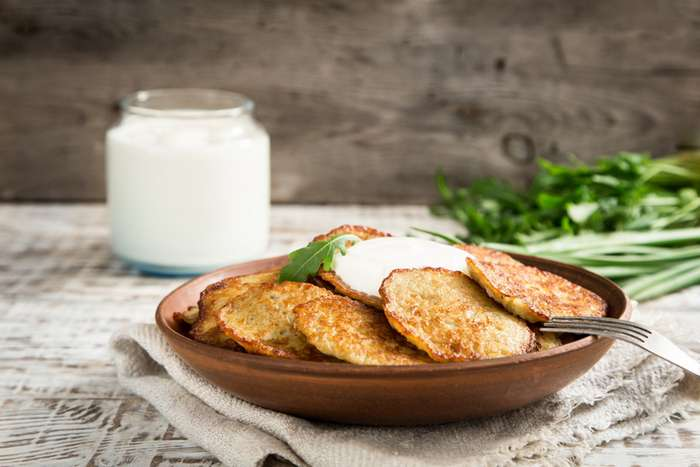 Удачный рецепт драников, которые не расползаются на сковороде