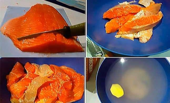 Засолка красной рыбы как тест на интеллект-2 фото-