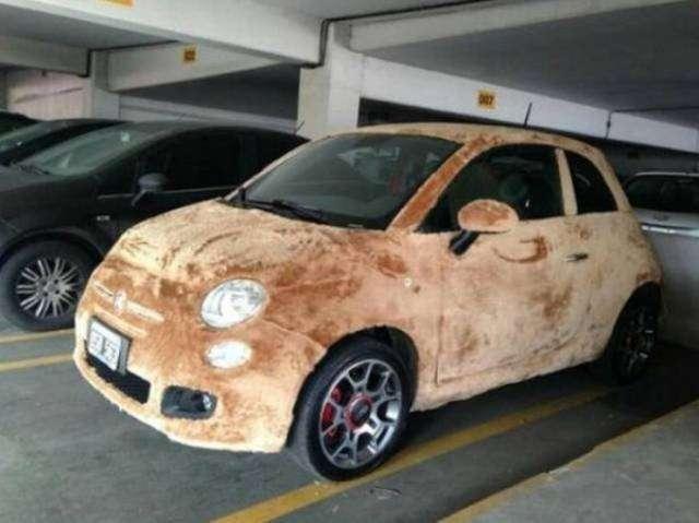 Прикольные и необычные автомобили-24 фото-