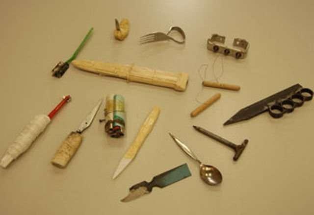 Изобретатели-сидельцы: самоделки, которые находят у заключенных-23 фото-