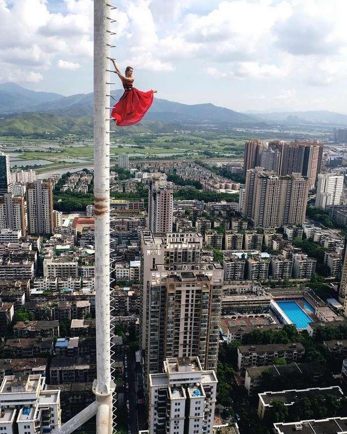 Юная руферша из Москвы делает самые опасные селфи в мире-22 фото-