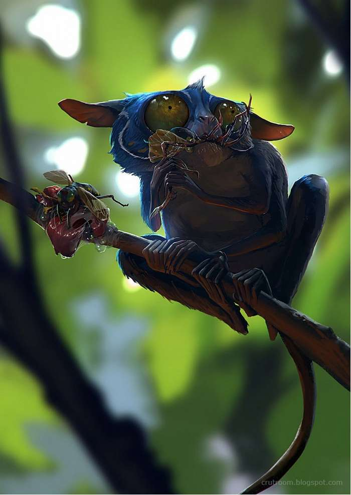 Шикарные анимационные персонажи индонезийского художника Руди Сисванто-21 фото-
