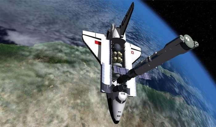 Космический крейсер и орбитальный бомбардировщик СССР-3 фото + 1 гиф-