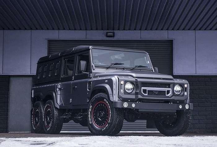 Вот это трактор: в Женеве представили новую версию Land Rover Defender-11 фото + 1 видео-