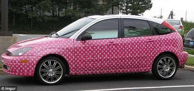 30 автомобилей, раскрашенных в стиле -Лопни мои глаза!--31 фото-