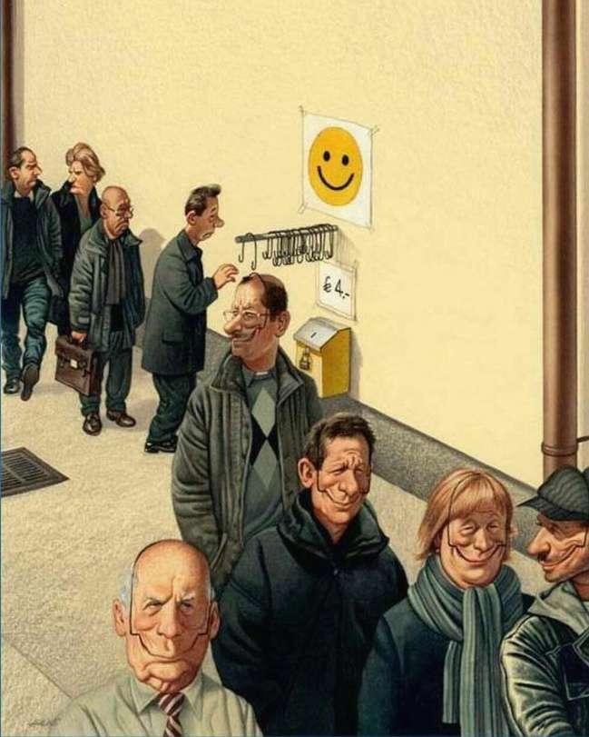 Австрийского художника приговорили ктюрьме захлесткие карикатуры, нооннебросил рисовать правду