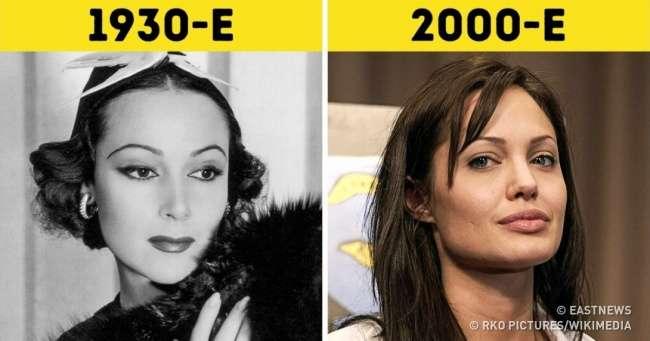 Посмотрите, как менялись стандарты женской имужской красоты запоследние 100 лет