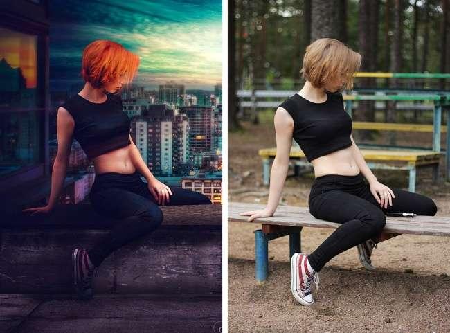 20фото, которые доходчиво объясняют, почему винтернете так много идеальных людей