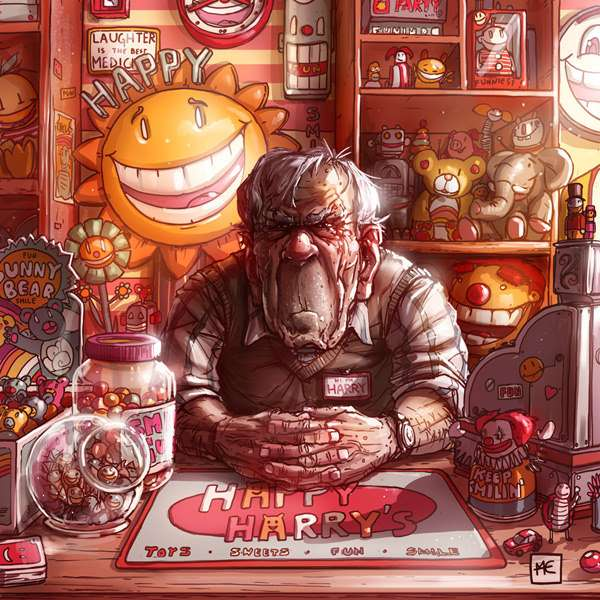 Художник создает ужасающую вселенную, вкоторой слишком много общего снашим миром