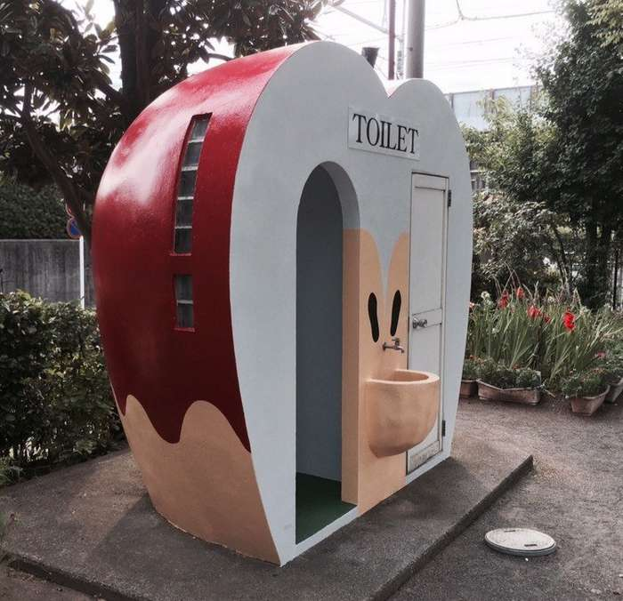 Общественные туалеты Японии, которые поражают воображение