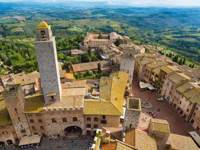 Лучшие горные города Италии