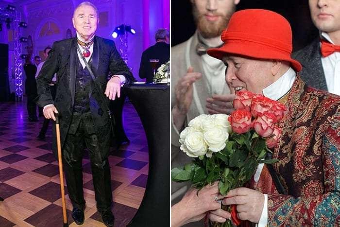 Модельер Вячеслав Зайцев отметил 80-летие