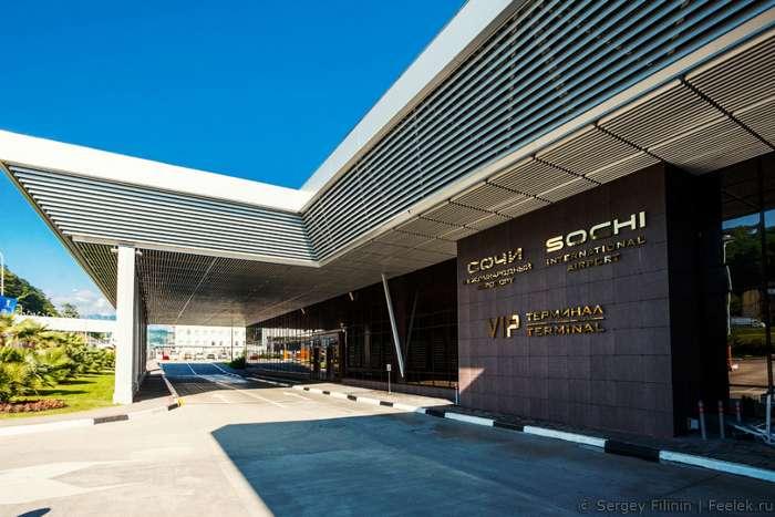 Прогулка по аэропорту в Сочи