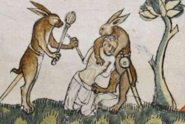 -Такое странное Средневековье- или несколько весьма интересных фактов об искусстве того времени. Часть 1