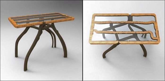 Выращенная мебель от Гэвина Манро