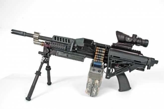 Новая винтовка США мощности танка