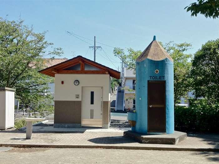 Общественные туалеты Японии