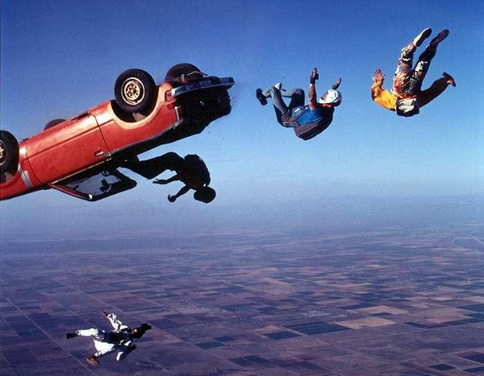 Шокирующие автомобильные трюки